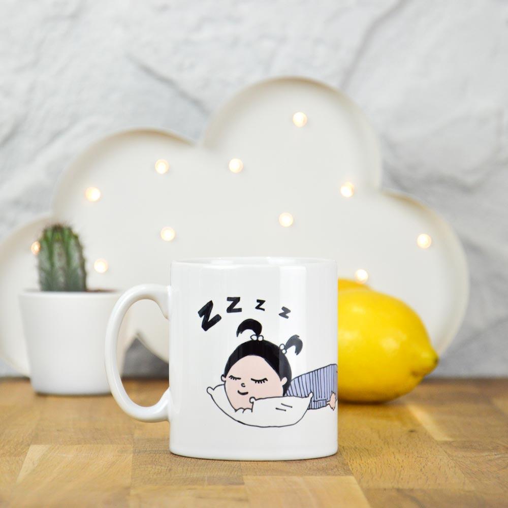 Tasse pas avant mon café