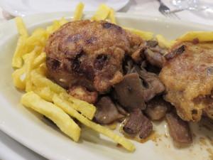 Cebollas rellenas, de Casa Zaca (foto: Cuchillo)