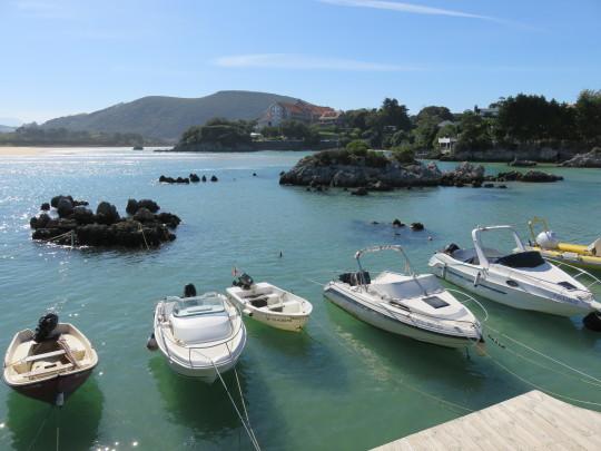 El entorno, fantástico, del hotel restaurante Astuy, en isla (foto: Cuchillo)