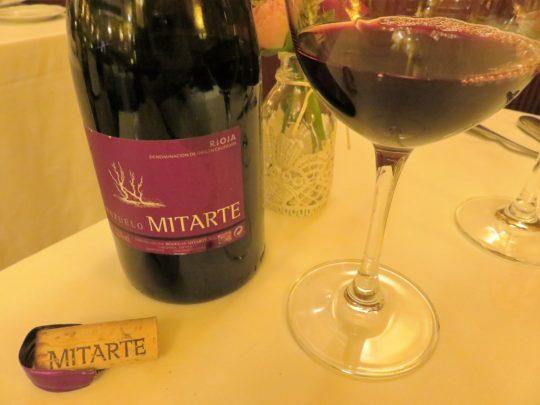 Mitarte mazuelo, en restaurante Cachetero (foto: Cuchillo)