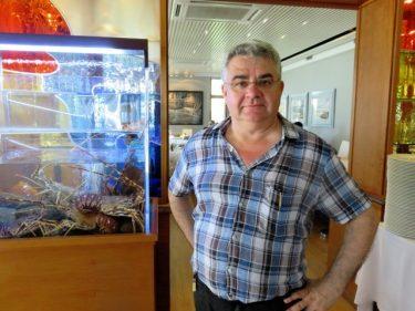 Javier Alguacil, responsable de El Faralló (foto: Cuchillo)