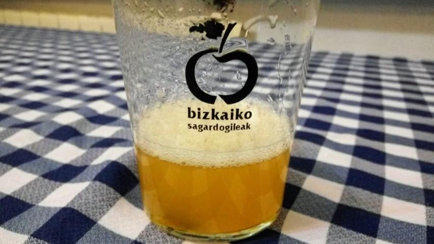 Sidra de Bizkaia. La sidra vasca