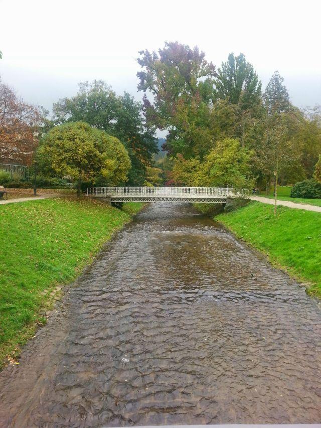 Río Oos en Baden-Baden
