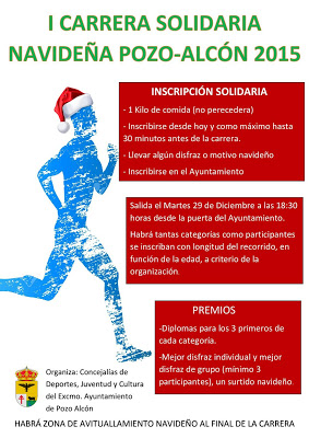 Carrera Solidaria Navideña