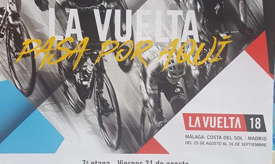 Gran expectación por la llegada de la Vuelta ciclista a Pozo Alcón