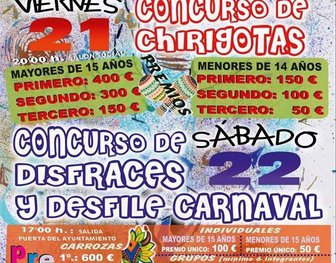Pozo Alcón celebra , este fin de semana, el carnaval