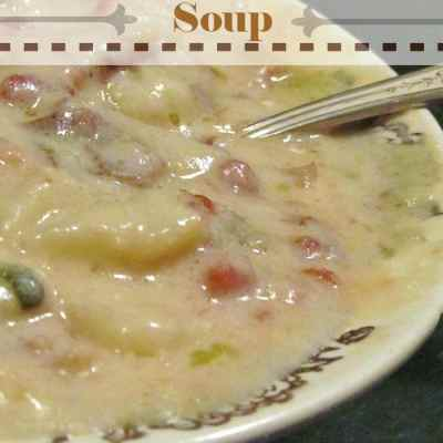 Winter Soups: Baked Potato Soup