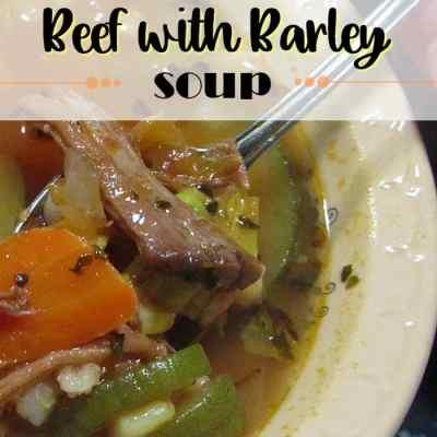 Winter Soups: Vegetable Beef Barley