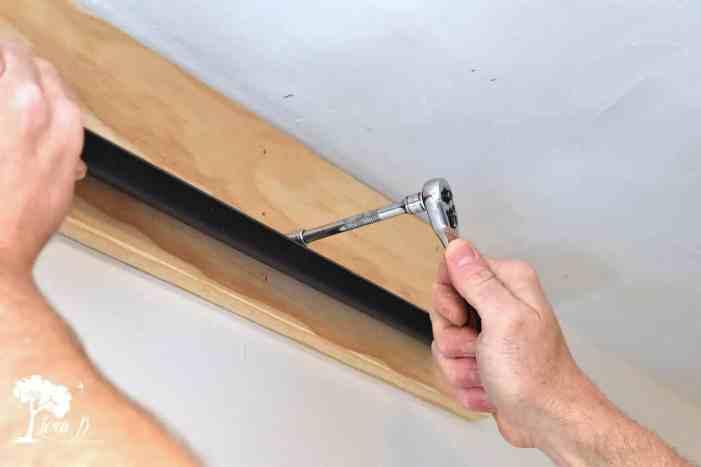 installing slider door hardware