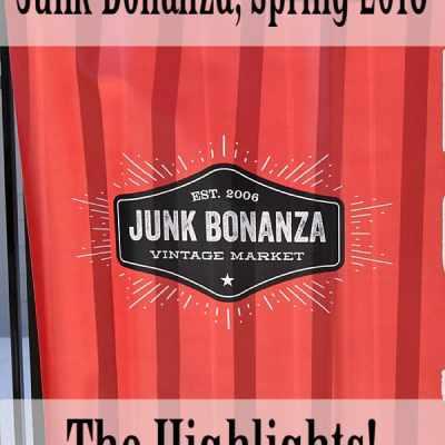 Junk Bonanza, Spring 2018 Minneapolis, MN