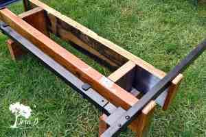 Half Log Headboard