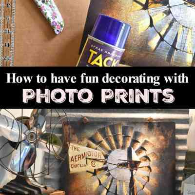 How to Easily Make a Decorating Theme Using Photo Prints