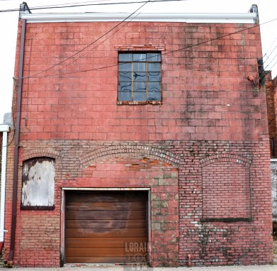 Herald Building, alley view