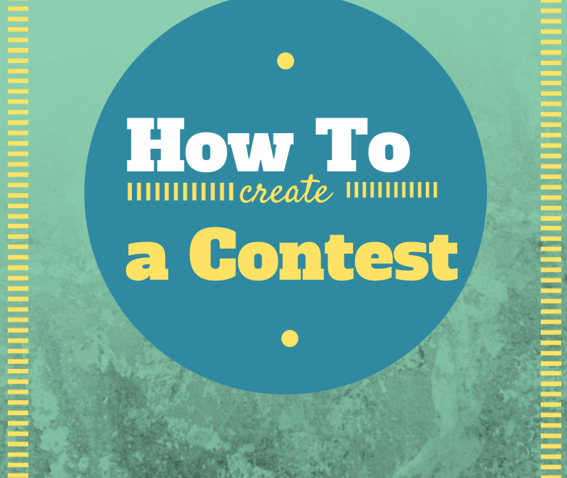 How to create an online contest in one afternoon