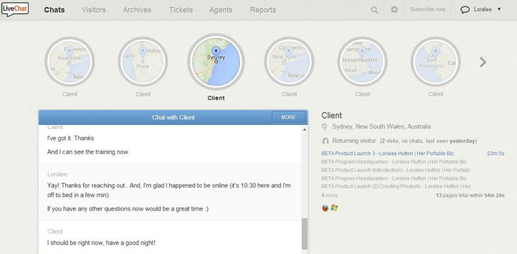 example Livechat
