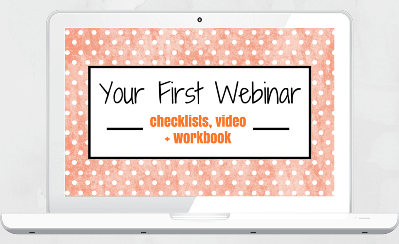 your first webinar portable biz club