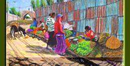 Axum, Ethiopia, Local markrt