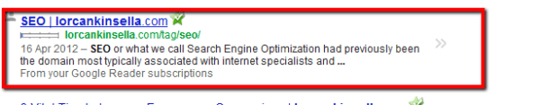 SEO metadescription