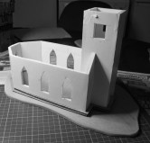 New MDF base and carboard platform