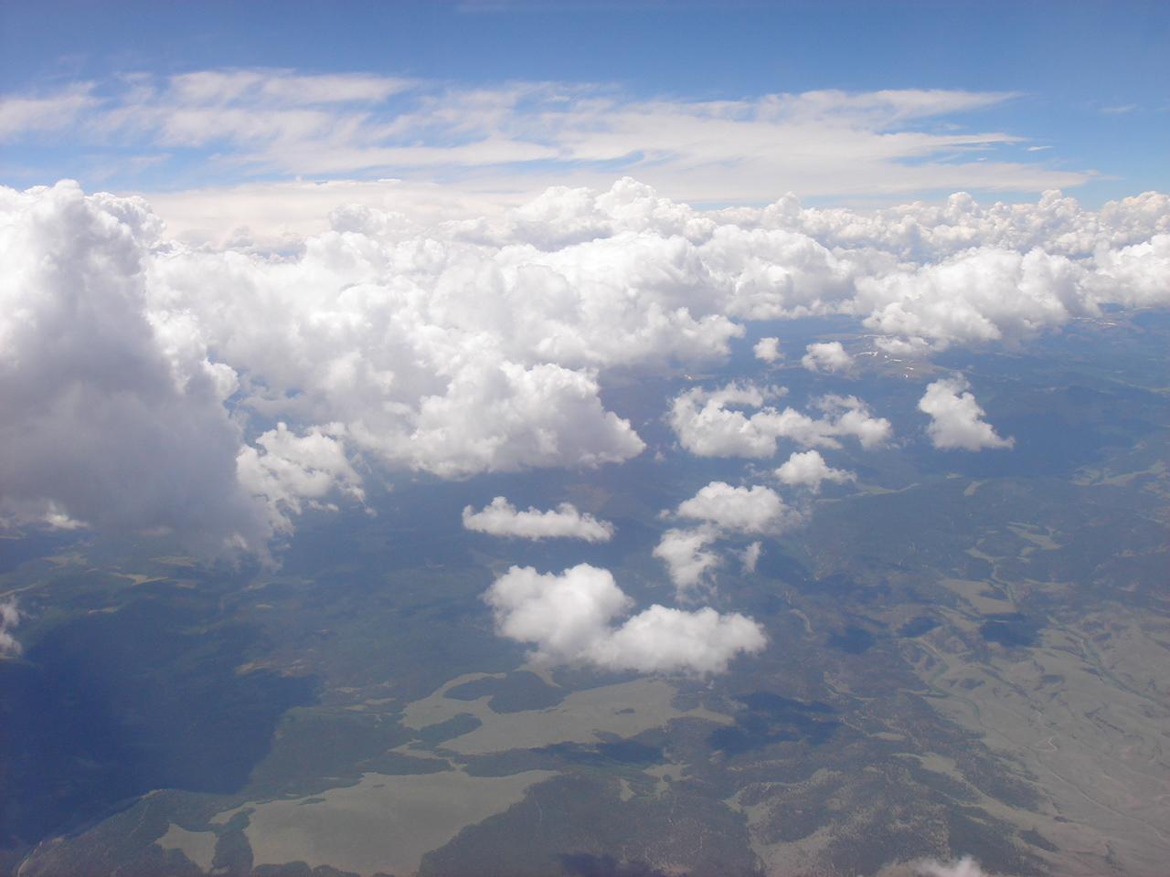 that's Colorado, methinks, far below!