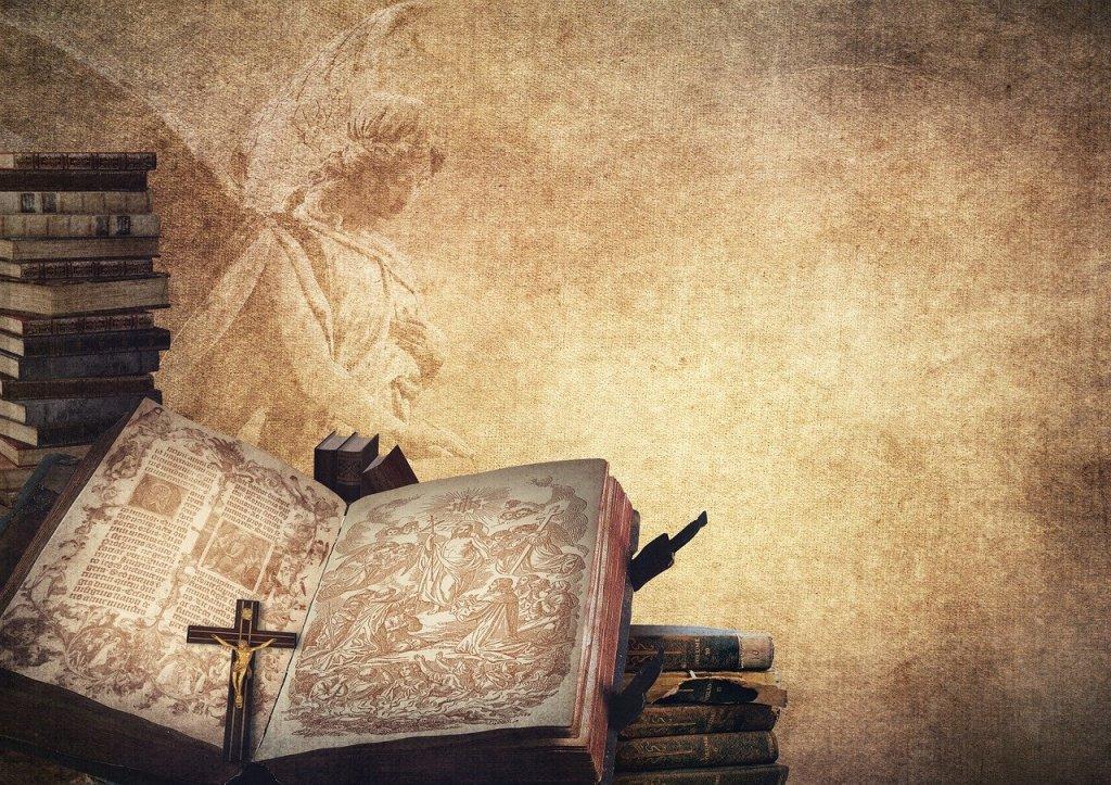 book, angel, bible