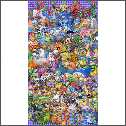 free epic Pokemon generation 3 Cross Stitch pattern