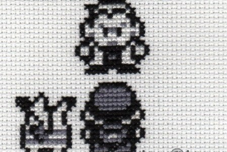 Pokemon Quote Cross Stitch by Lord Libidan