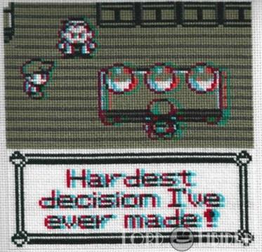 3D Pokemon Choice Cross Stitch