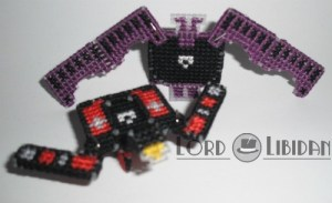 3D Transforming Tapes - Ratbat and Laserbeak Cross Stitches by Lord Libidan
