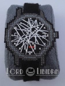 Last Of Us Broken Cross Stitch Watch