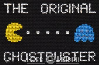 The Original Ghostbuster Cross Stitch