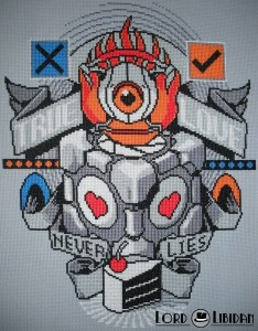 Portal Tattoo Cross Stitch by Lord Libidan