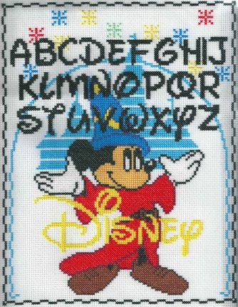Disney Mickey Sampler Cross Stitch
