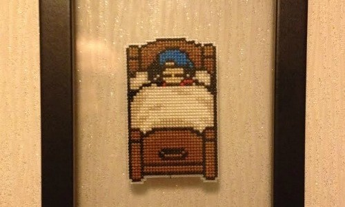 Harvest Moon Floating Cross Stitch