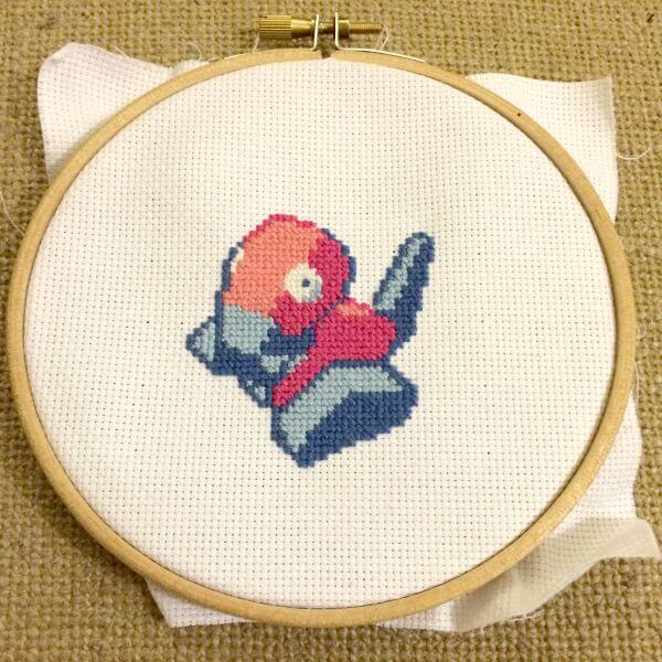 porygon cross stitch