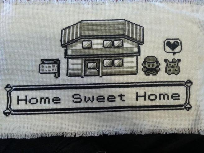 Pokemon Home Sweet Home Cross Stitch by umlauts (source: @xstitchmag)