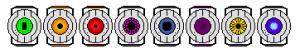 portal companion spheres pixel art