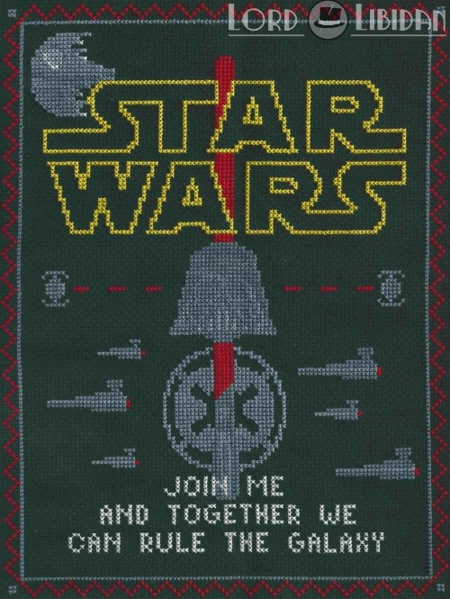 Star Wars Dark Side Sampler Cross Stitch by Lord Libidan