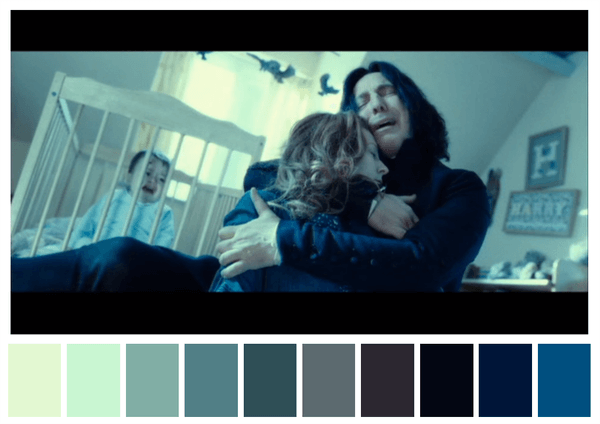 harry potter and the deathly hallows part 1 color palettes