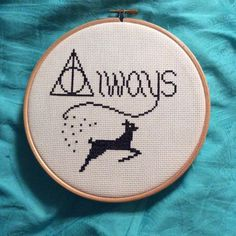 Harry Potter Always Cross Stitch (source: Etsy)
