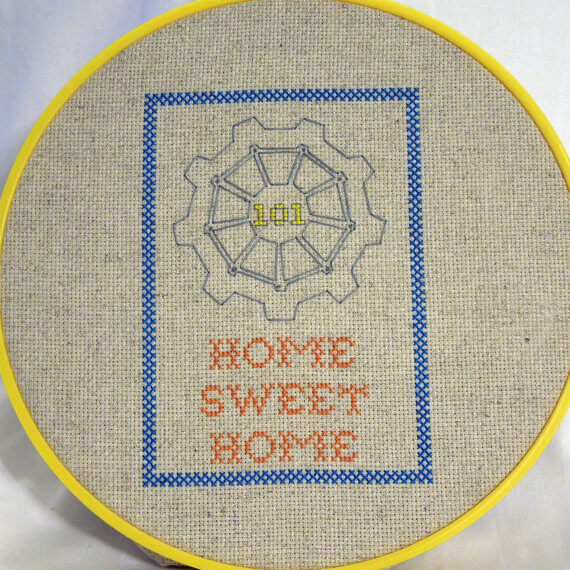 fallout vault-sampler-cross-stitch