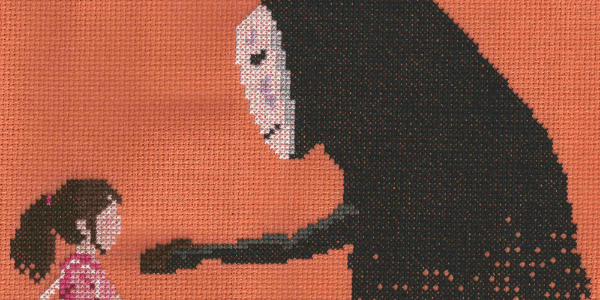 Spirited Away Cross Stitch by Lord Libidan
