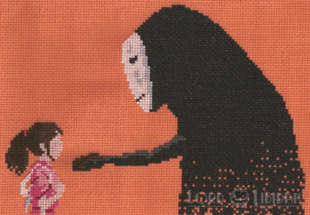 Spirited Away Cross Stitch