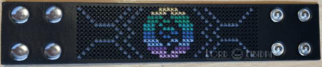 Pokemon Mega Ring Cross Stitch