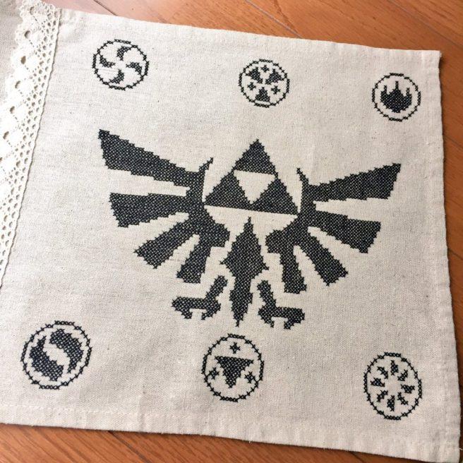 クロスステッチ zelda cross stitch