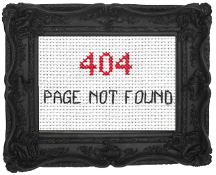 404 cross stitch