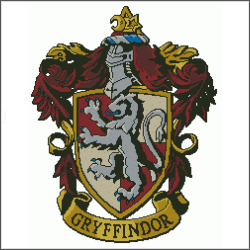 harry potter gryffindor v3 cross stitch pattern