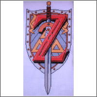 z is for zelda cross stitch pattern