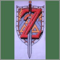 z is for zelda cross stitch pattern