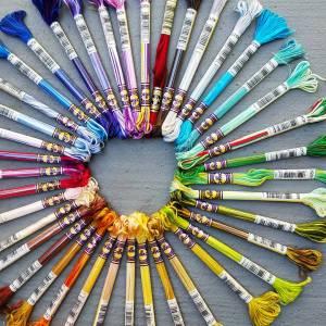 DMC coloris theads